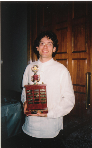 Mitch Haggman - Cairns Saints Clubman of the Year 2003